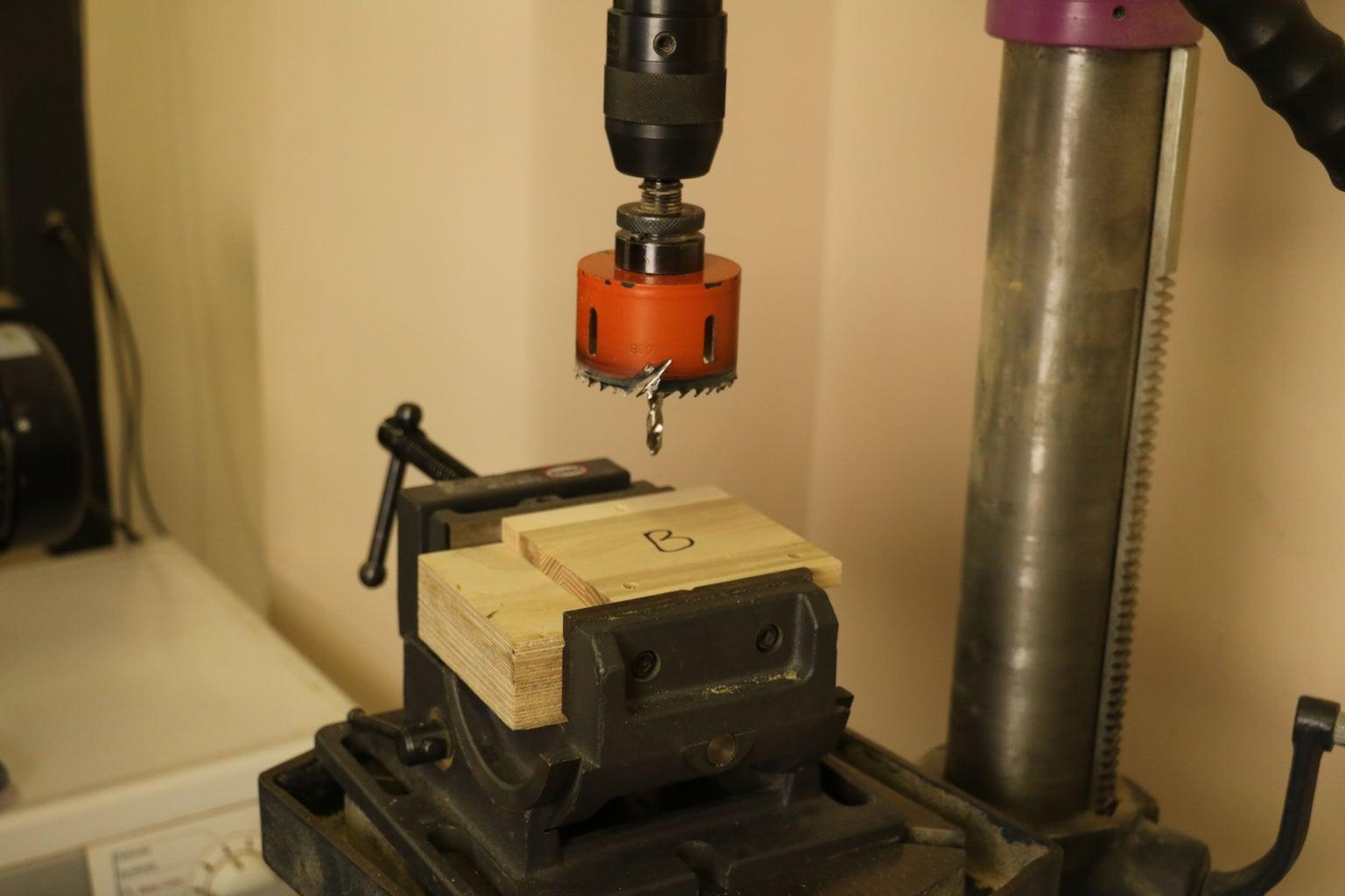 Stencil & Hole Drilling