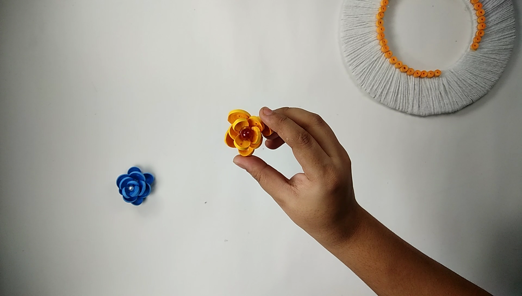 Making the Quilling Flower