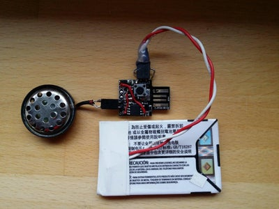 Reducing Supply Voltage by Using a LiPo Battery