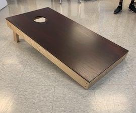 How to Make a Cornhole Board