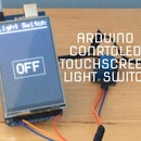 Arduino Controlled Touchscreen Lightswitch