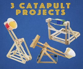 Mini Catapult Projects for Kids