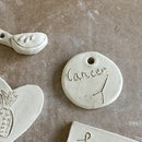 Personalized Clay Keychains