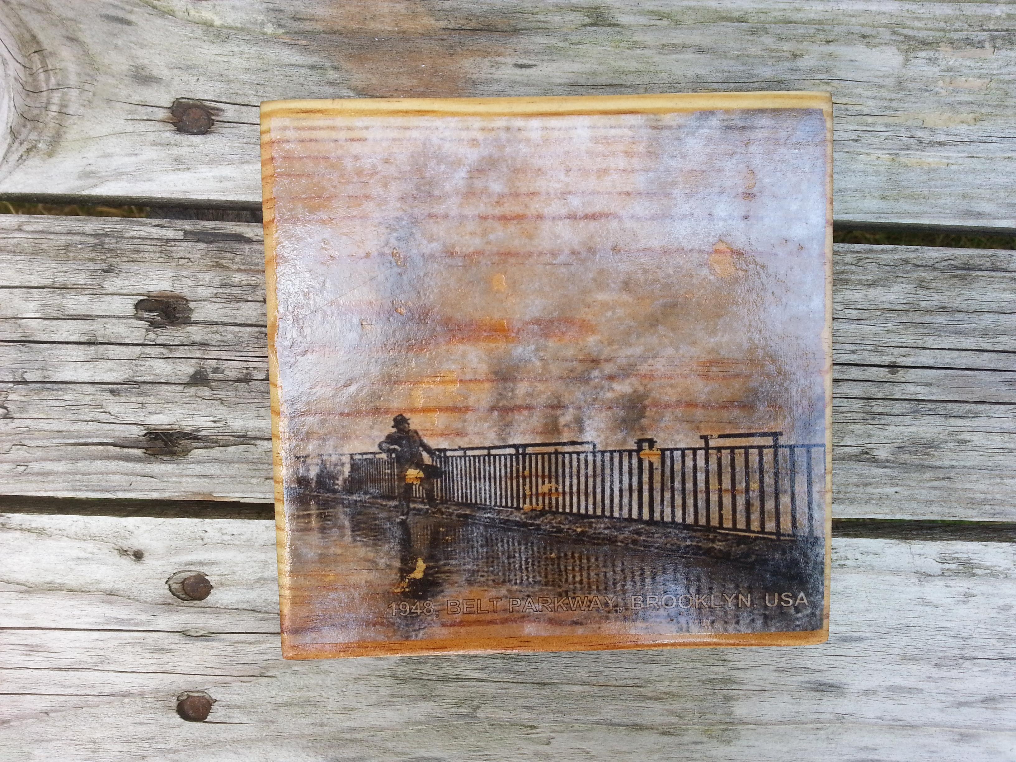 Photo Transfer On Wood