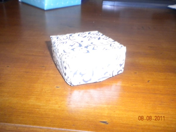Wedding Favor Paper Boxes; No Glue Required