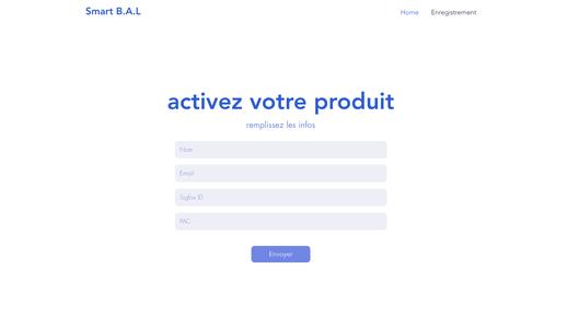 Back-end Website