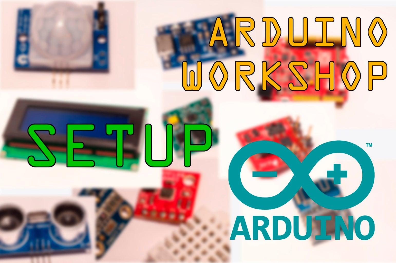 Arduino Developing Workshop