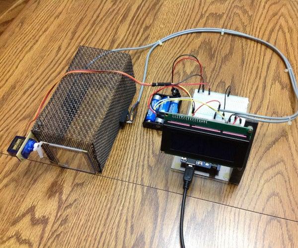 Arduino Mouse Trap