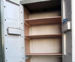 Plastic Cabinet Re-Make