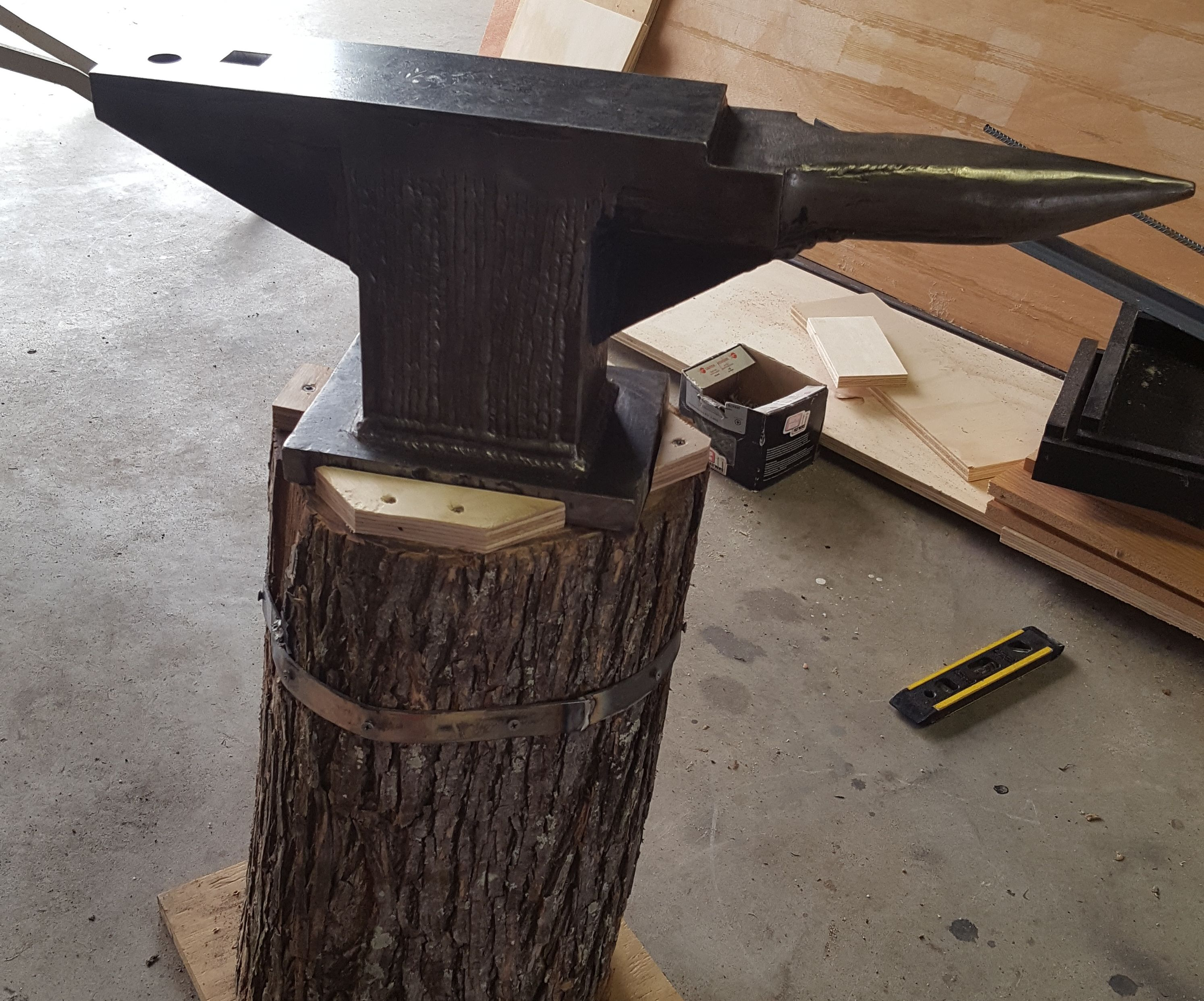 Home-made anvil