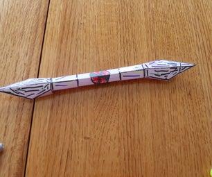 Origami Paper Spear