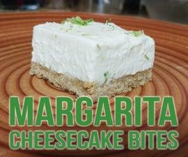 Margarita Cheesecake Bites
