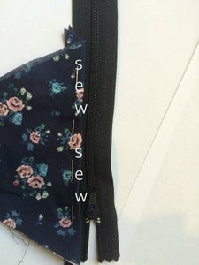 Sewing the Zipper