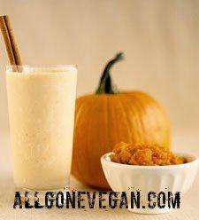 Pumpkin Yogurt Smoothie