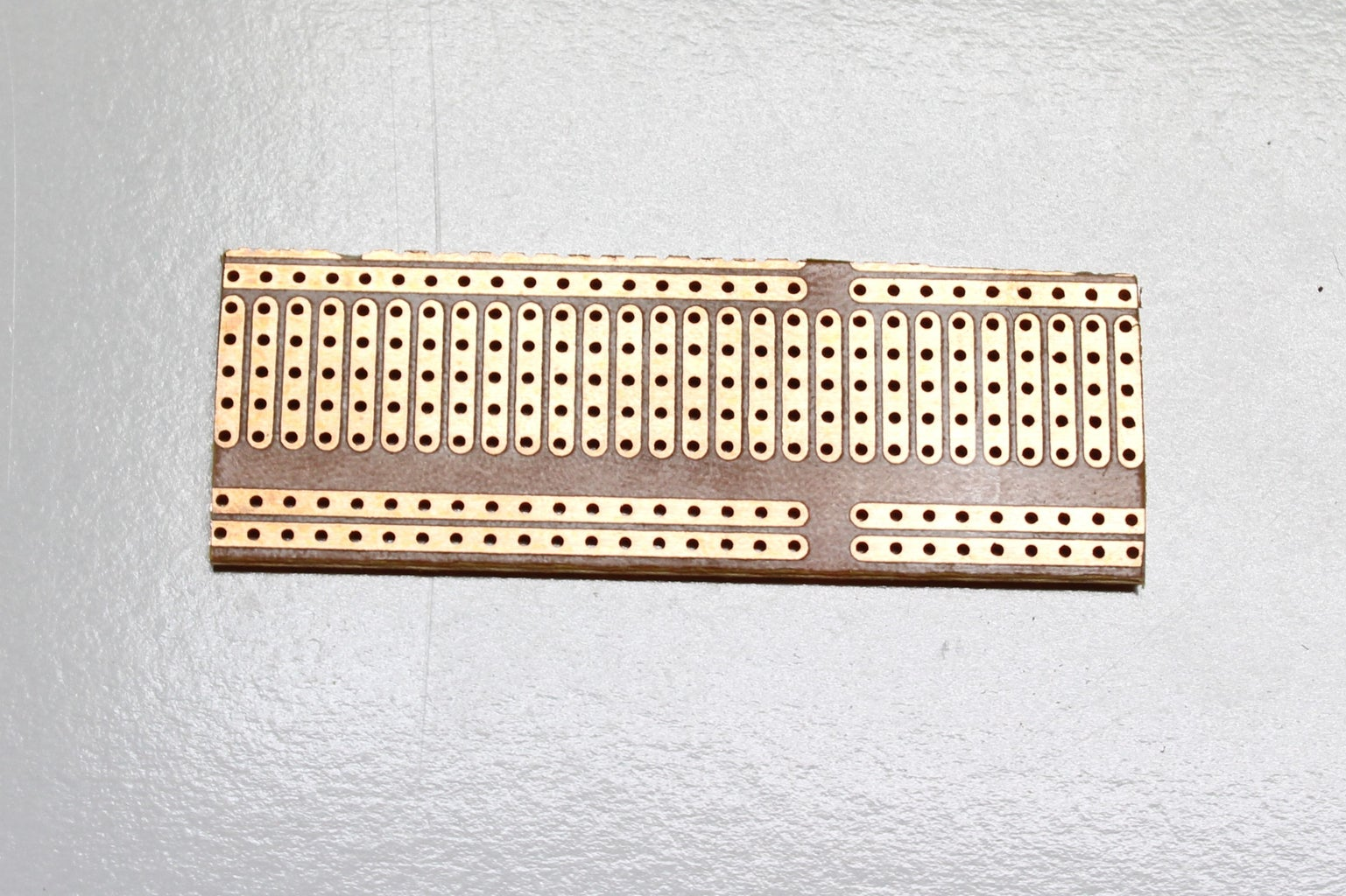 Preparing the Prototype Board for the LED's