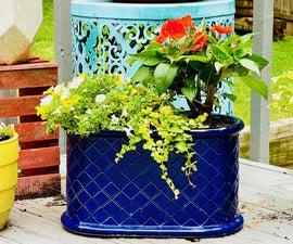 Fix a Broken Ceramic Planter With Epoxy