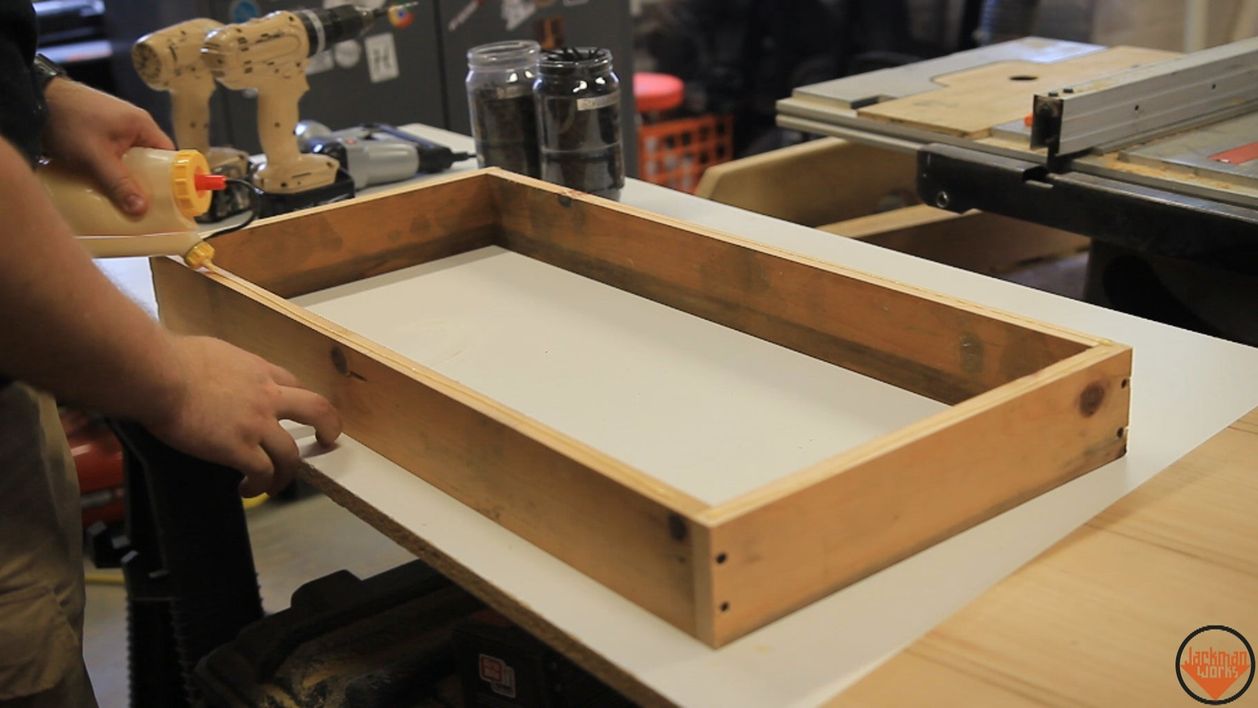 Building the Small Drawers