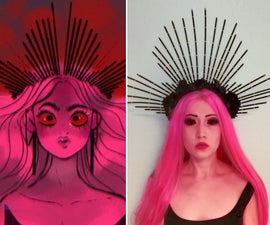 """Persephone's Crown From """"Lore Olympus"""""""
