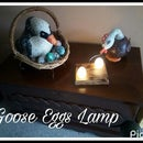 Goose Eggs Lamp, How to Make