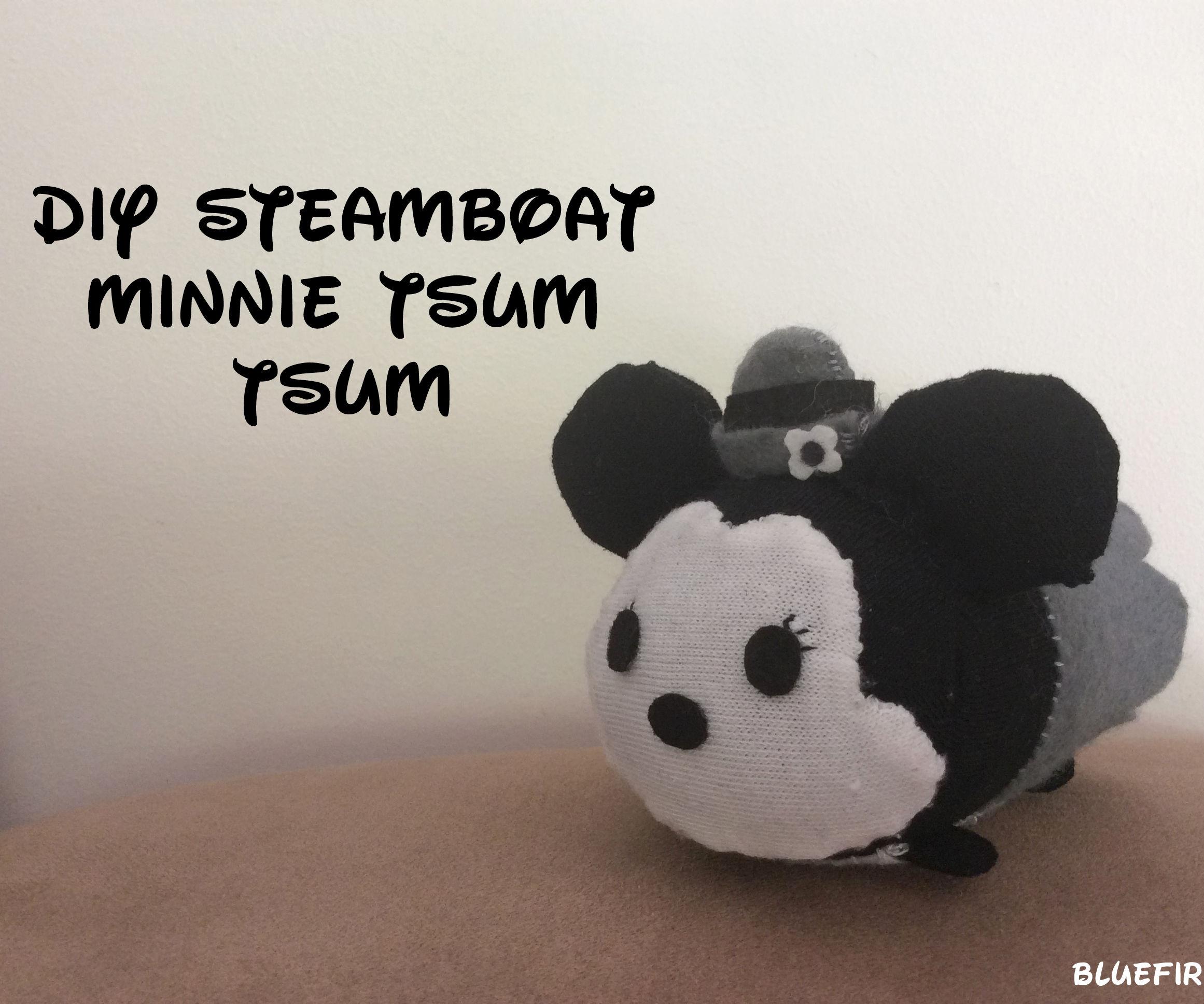 DIY Steamboat Minnie Tsum Tsum