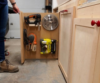 Workshop Pull-out Storage