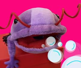 吹泡泡机器人/三叶虫木偶