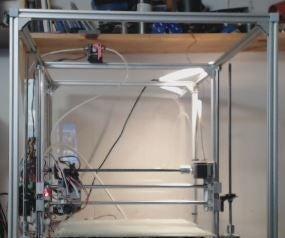 All Metal Mega 3D Printer With All Acme Rods (Prusa I3 Base)