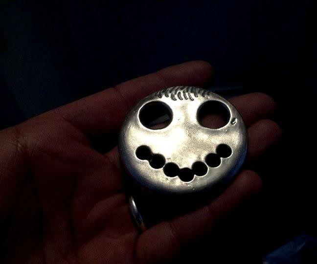 Print a Smiley Metal by Transfer.