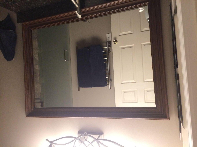 Floating Mirror Frame