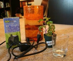 Simple Indoor Water Feature