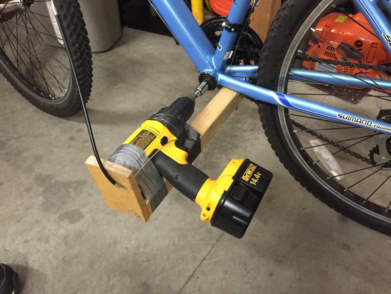 DIY DRILL BIKE