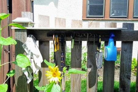 Swiss Army Garden Shelf