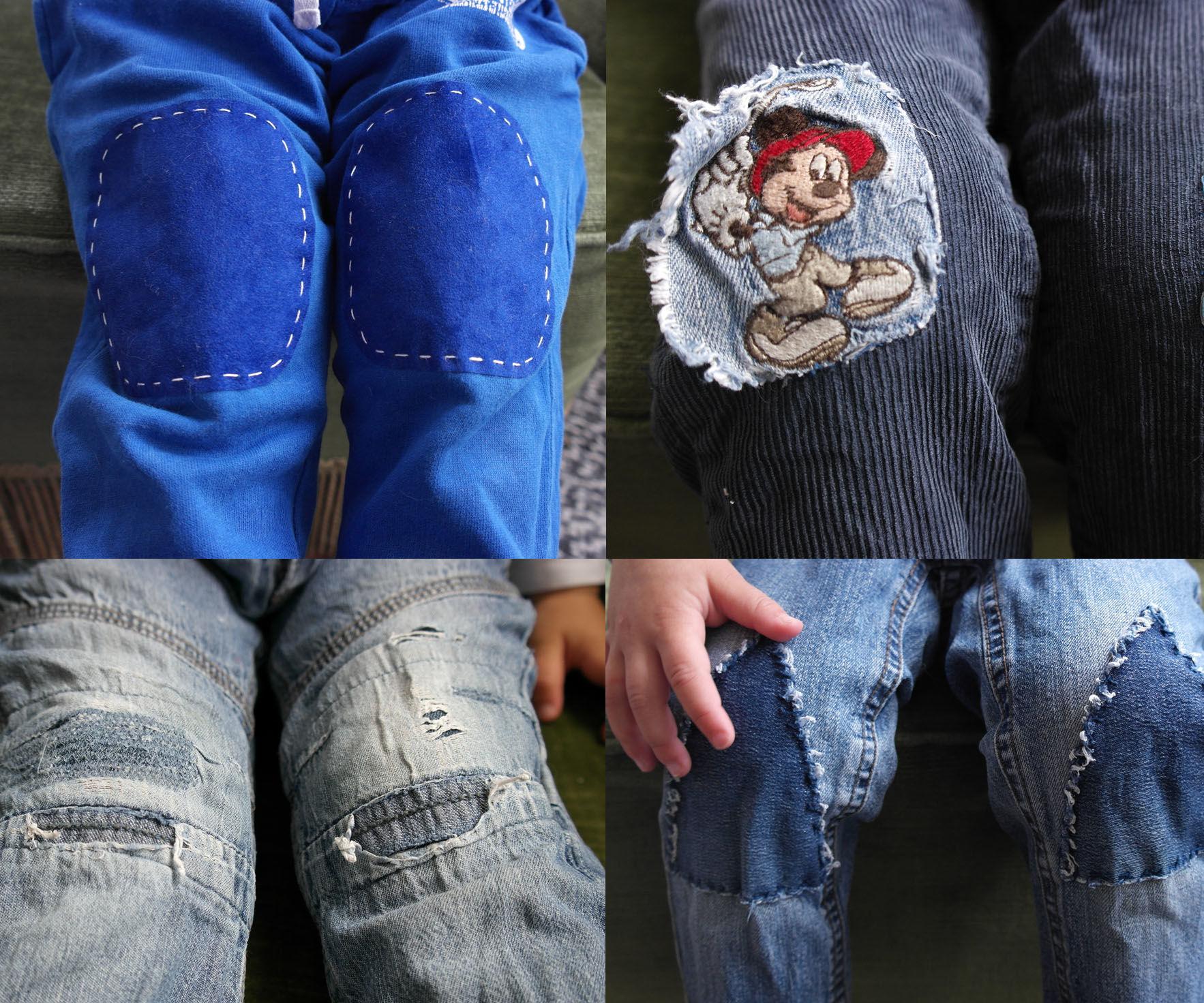Patching Up Broken Kids-pants.