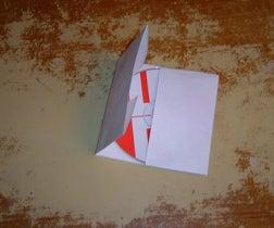 Make an Origami CD Holder