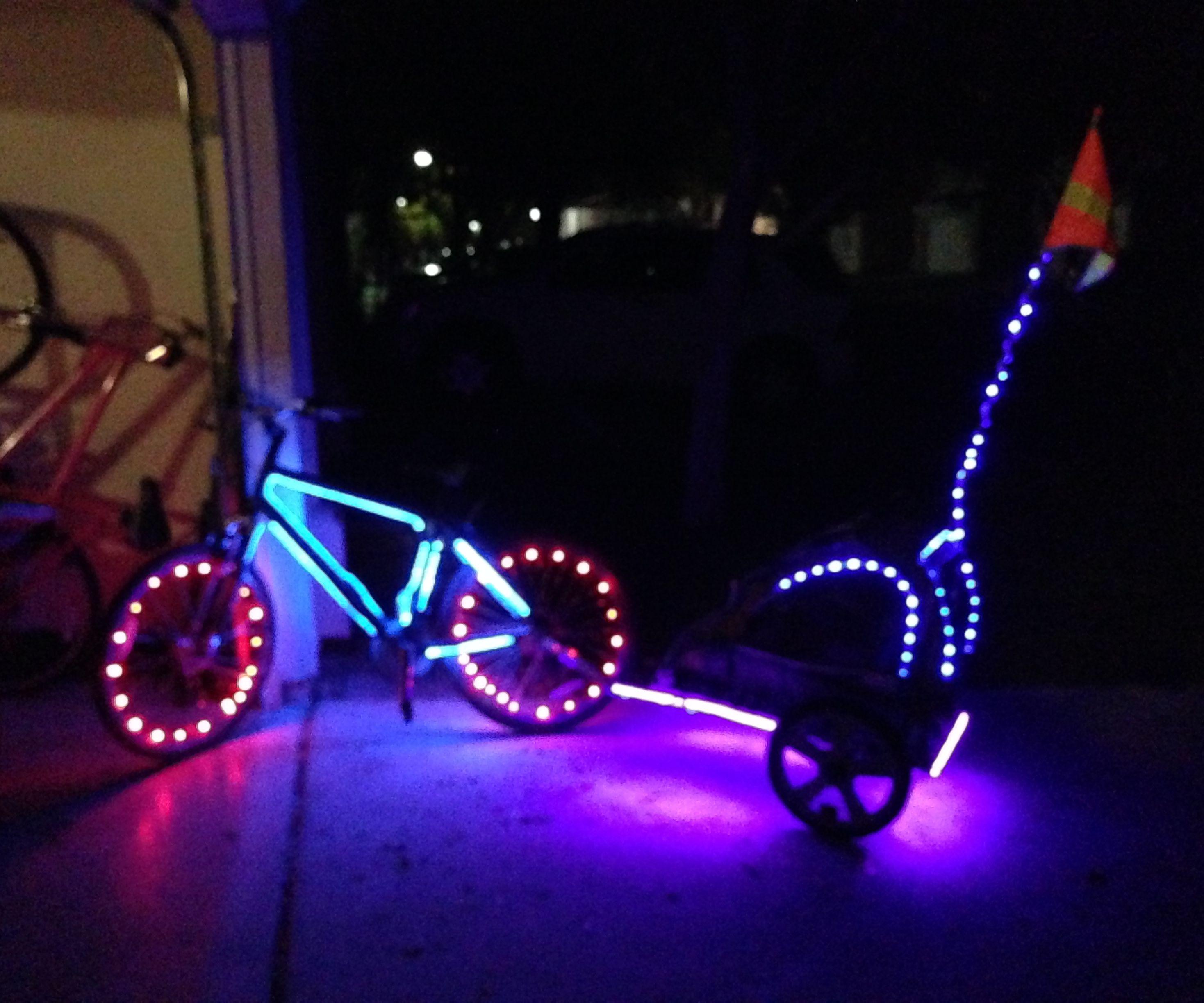 LED Bike/Child Trailer