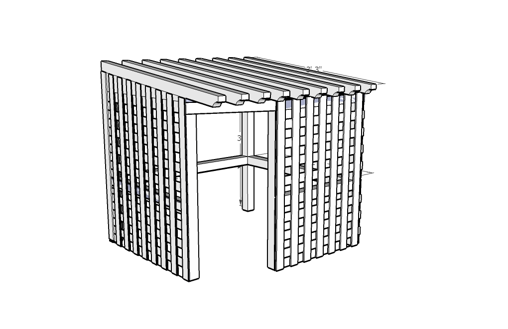 How to Build an Open Air Doghouse:The Doggy Retreat