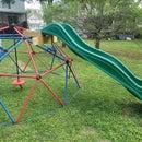 Geometric Dome Slide Platform