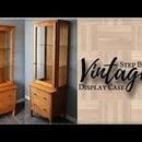 DIY Vintage Display Cabinet