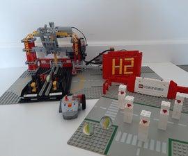 Lego Technic Bowling Machine