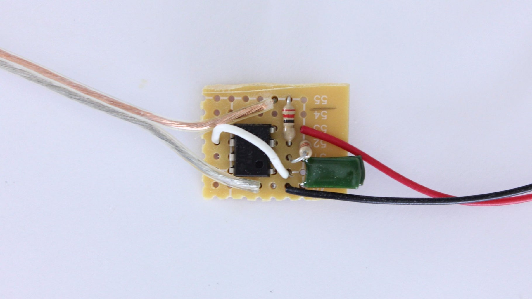 Construct the IR Remote Circuit