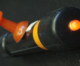 LED Flashlight With Secret Switch