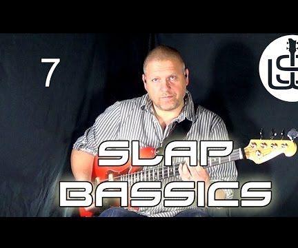 Slap Bassics by Scott Whitley Lesson 7 - Intro Slap Bassline Pt 2
