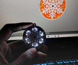 PCB Snowflake Ornament