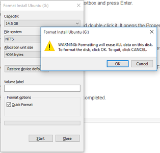 Format Your Flash Drive