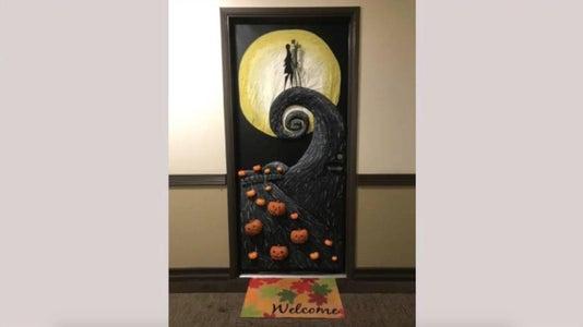 Nightmare Before Christmas Door Decoration