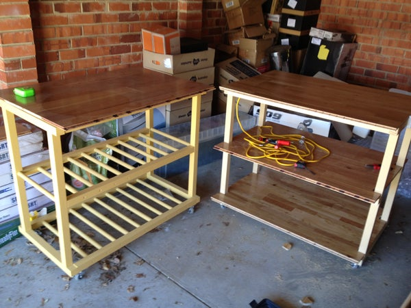 Portable Work Benches