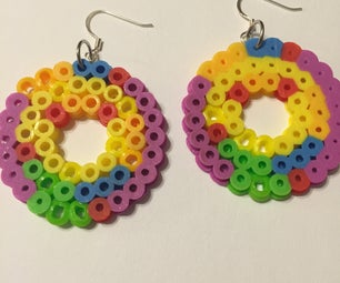 Rainbow Inspired Earrings