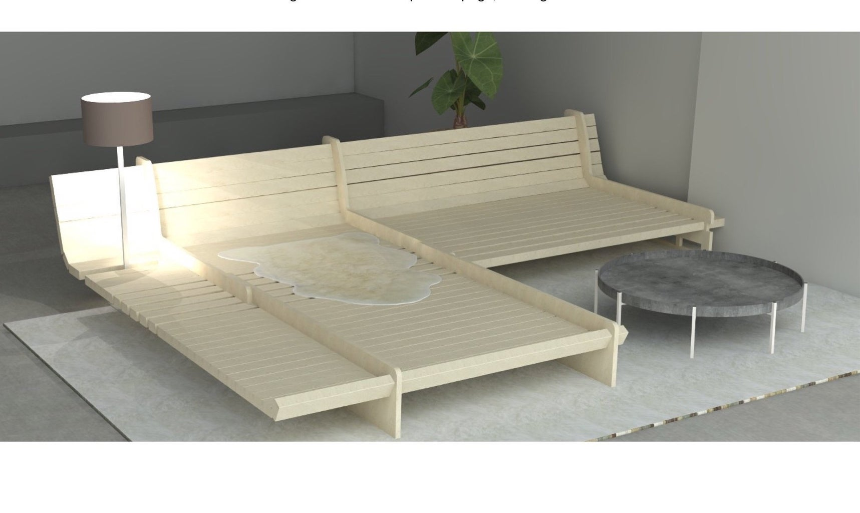 Enjoy Your New DIY Sofa Bed Frame!