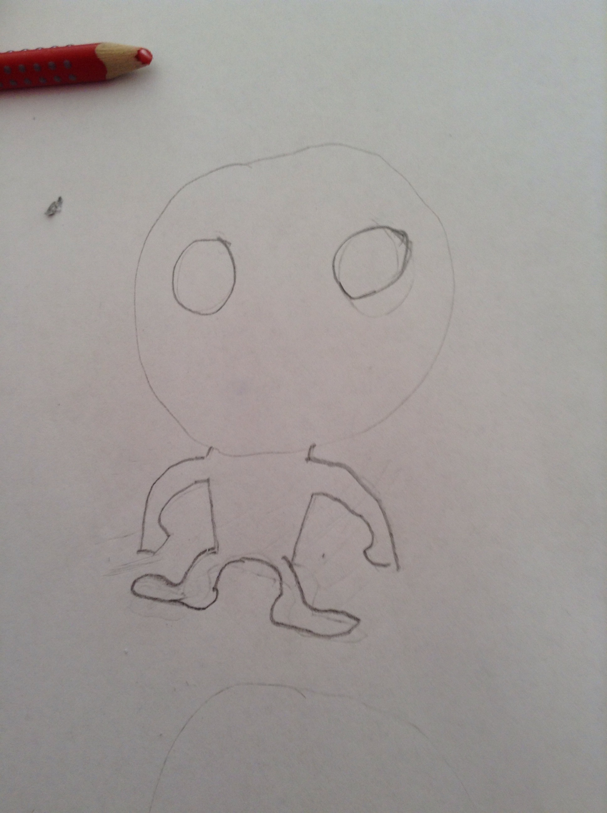 How To Draw A Character Like A Pop Vinyl