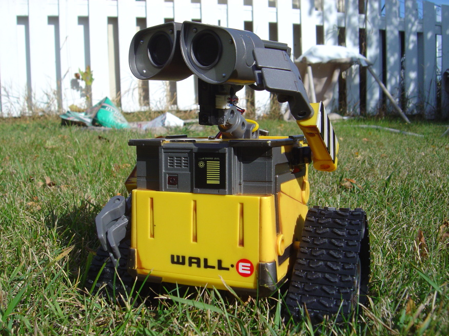 My Autonomous HomeMade Wall-E Robot